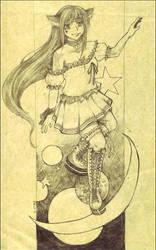 .+. Sketch .+. by morana-sama