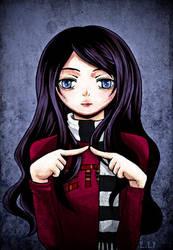 Anime Self Portrait by morana-sama