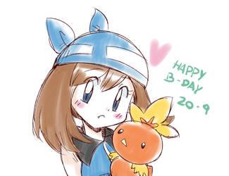 Happy Birthday Sapphire by mzeichnungen