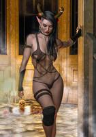 Dark Enchantress by supersolidusnake