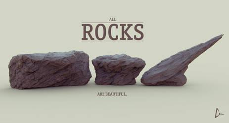 All ROCKS Are Beautiful by ninokiboom