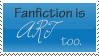 Fanfiction stamp by writerism