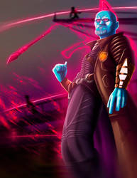 Yondu - guardian of the galaxy by PatoIV