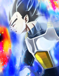 Vegeta Ultra Instintic by PatoIV