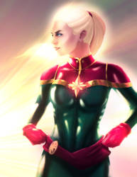 Captain Marvel by PatoIV