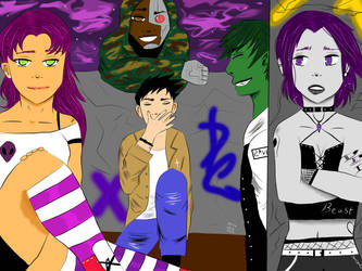Teen titans by BladeWithin