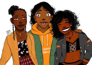 Just girls. by BladeWithin