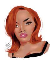 Teyana Taylor by BladeWithin