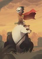 Mayan super hero by Bad-Blood