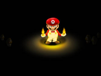 dangerous mario by Bad-Blood