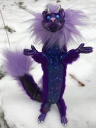 Galaxy Eastern Dragon by felineflames