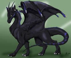 Gift art--Dragon-architect by felineflames