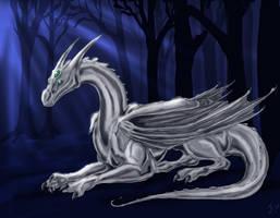 Akhor, the Silver King by felineflames