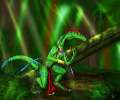 Rainforest Veliska--gift by felineflames
