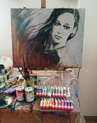 Alycia Debnam-Carey by radziczek007