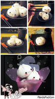 Dumpling Handmade Softies by GenevieveGT