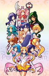 Sailor Moon Sailor Stars by GenevieveGT