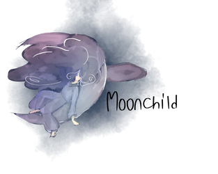 Moonchild, You shine. by PlayMyLittleGame