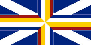 UK of E, F, and S - flag by Neethis