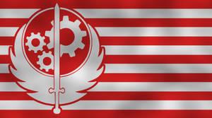Brotherhood Of Steel - flag by Neethis