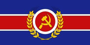 Communist Britain - flag by Neethis