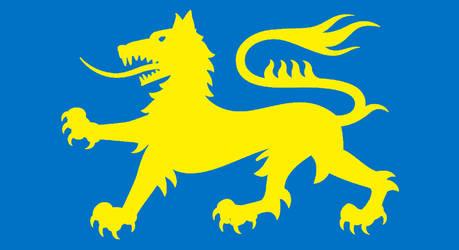 Hastingsworld - Mercian flag by Neethis