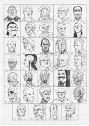 Heads 341-374 by one-thousand-heads