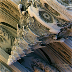 Mandelbulb Spine by dspwhite