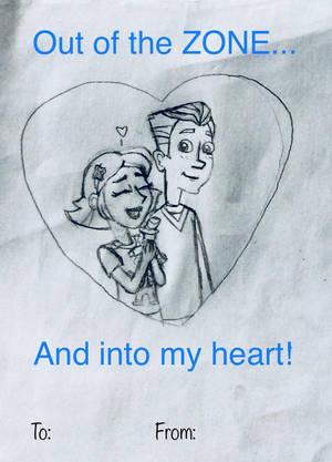 MML Valentine Cards: Sara x Neal by YarasWorld