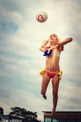 Venus Volleyball Spike! by Elreca