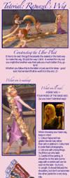 Rapunzel's Wig Tutorial 1 by echoing-artemis