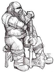 The Friendly Dwarf by RestillHabb