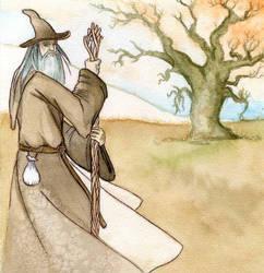 WIP - Gandalf by RestillHabb