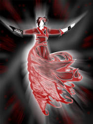 Red Figure by VelaSerul