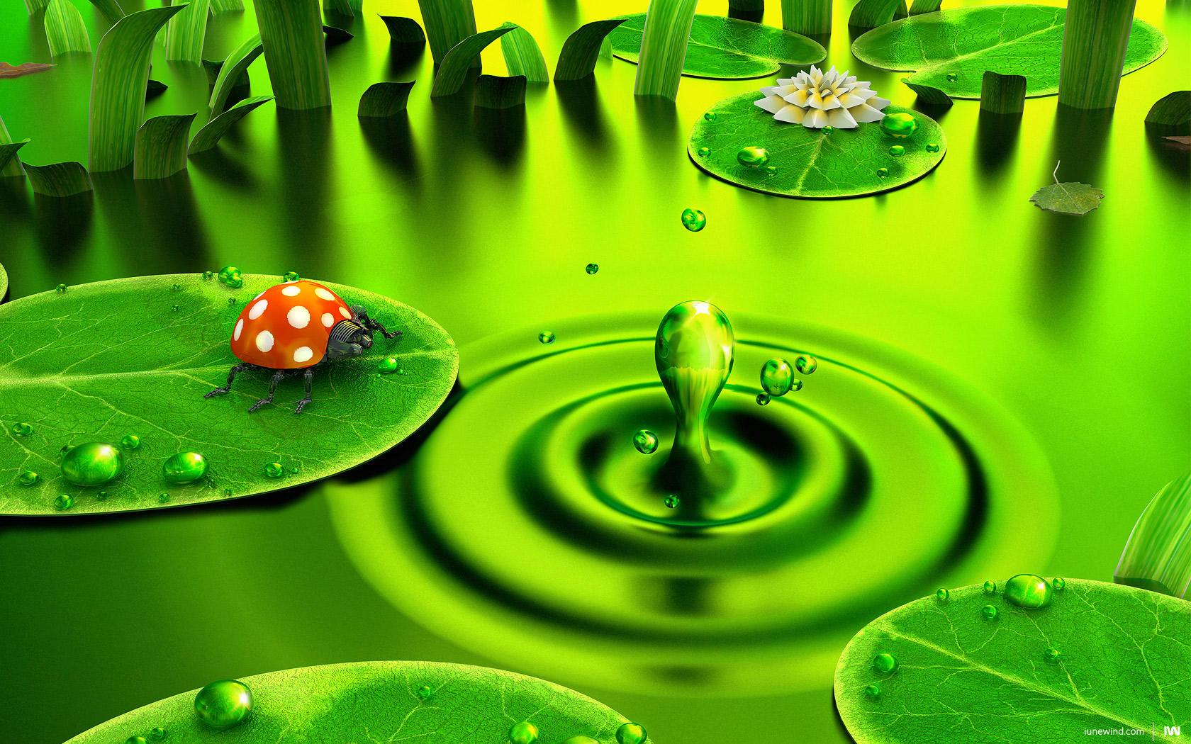 Green dawn v2 by iuneWind