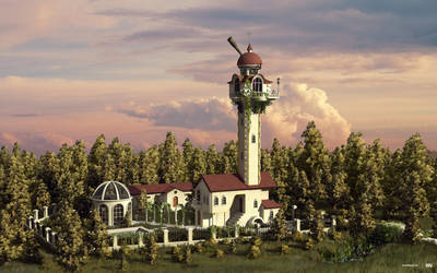 Astro Tower by iuneWind