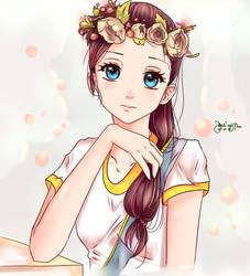Flower Girl by BatingTine