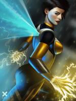 The Wasp - Marvel fanart by aizarraffoul