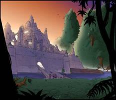 The Walls of Negav -colors by Hitokirisan