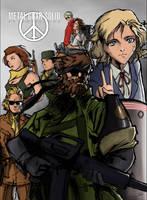 Peace Walker Poster by Hitokirisan