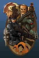 Metal Gear Solid by Hitokirisan