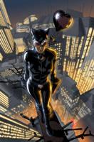 Sandoval's Catwoman by Hitokirisan