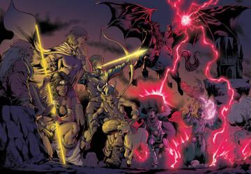Dungeons and Dragons by Hitokirisan