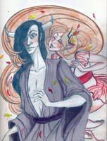 Silkyfuzz Sketch, Fall Again by Rosengeist
