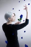 Blue rose by kohakunoyume