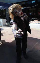 Denver Zombie crawl '10 makeup by Reverie09