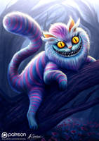 Cheshire Cat by AnthonyChristou