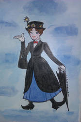 Mary Poppins by Neon-Blue-DaggeR