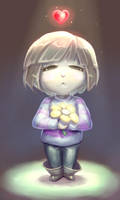 Frisk's Determination by mangaZwolf