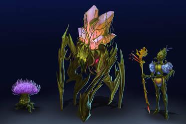 forest minions by AkemiHatiko